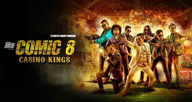 Comic 8: Casino Kings Part 2 Jawara Box Office Indonesia