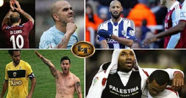6 Selebrasi Kontroversial Pemain Sepakbola Terkenal Di Dunia