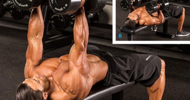 12 Gerakan Untuk Membentuk Otot Dada Yang Tebal