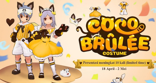 Kostum Coco Brulee Kitten - Ragnarok M: Eternal Love