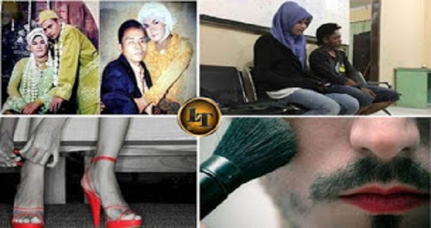 Lucu, Kisah 4 Pria Yang Salah Menikah Dengan Waria