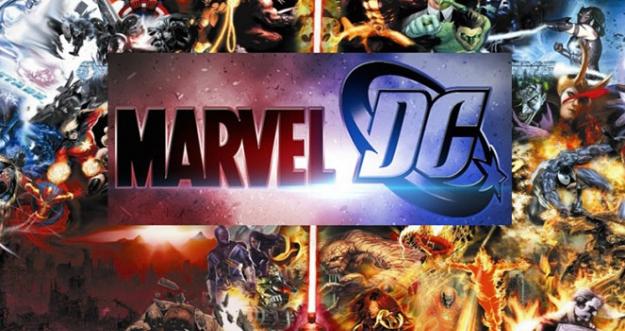 10 Karakter DC Comics dan Marvel Yang Mirip