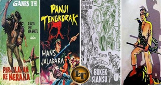 5 Komik Silat Asli Indonesia Paling Terkenal Pada Masanya