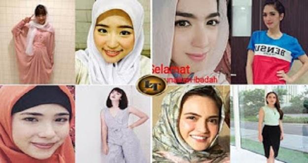 6 Artis Non Muslim Tampil Cantik Saat Berhijab