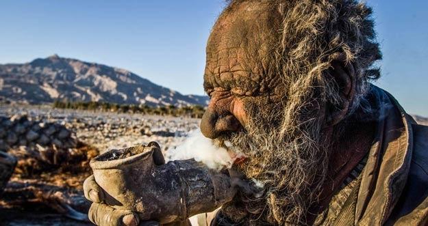 Amoo Hadji, Pria Terkotor di Dunia Yang Tidak Mandi Selama 60 Tahun