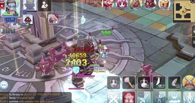 Time Dagger Quest, Clock Tower 2F - Ragnarok M: Eternal Love