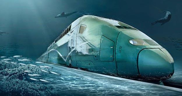 Kereta Cepat Pertama Yang Melintasi Bawah Laut