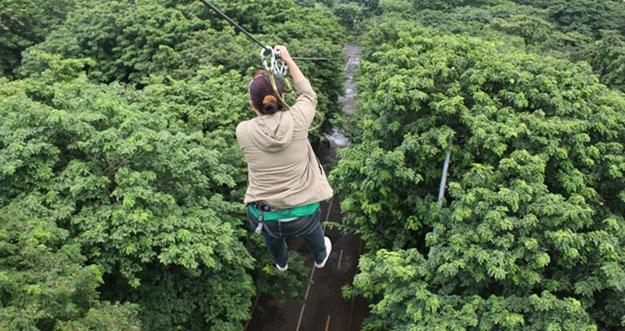 Pilihan Bermain Flying Fox Di Jakarta