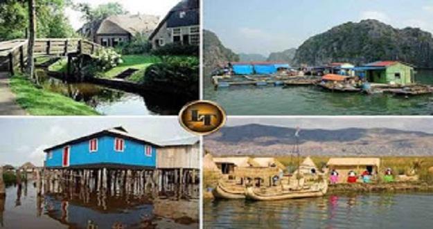 7 Desa Terapung Paling Unik Di Dunia