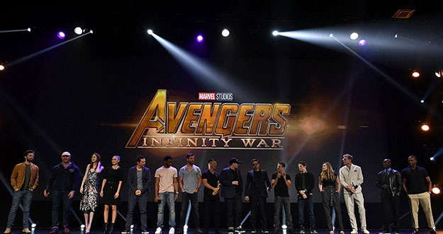Kemunculan Perdana Film Perdana Avengers: Infinity War