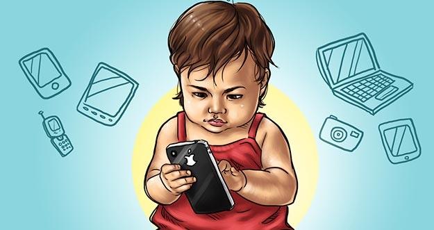 Bahaya Radiasi Gadget Untuk Anak