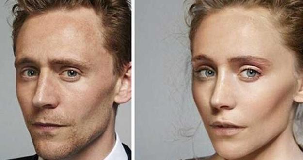 Photoshop, Begini Wajah Aktor Superhero Ketika Menjadi Wanita