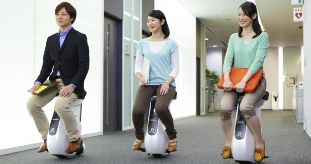 Honda UNI-CUB Beta: Kursi yang Bisa Berjalan