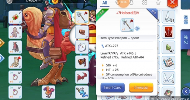 Downgrade Senjata Atau Equipment Di Ragnarok M: Eternal Love