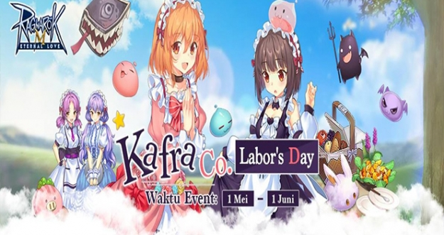 Event Kafra.Co Labor Day - Ragnarok M: Eternal Love