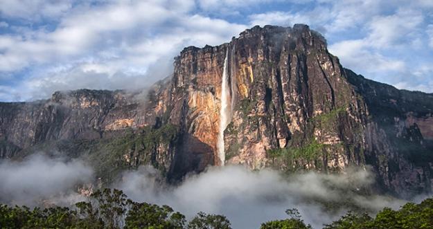 10 Air Terjun Tertinggi Di Dunia
