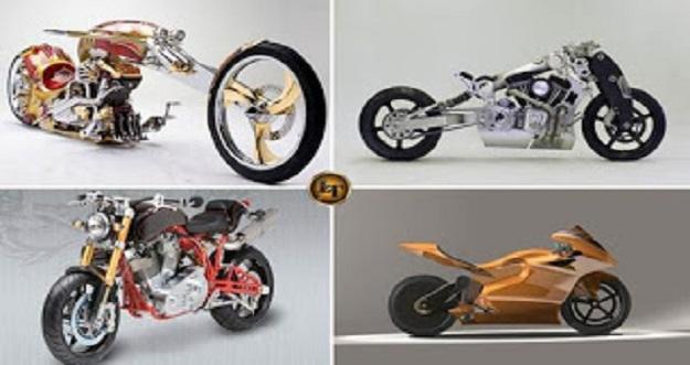 5 Motor Keren Sekaligus Paling Mahal Di Dunia