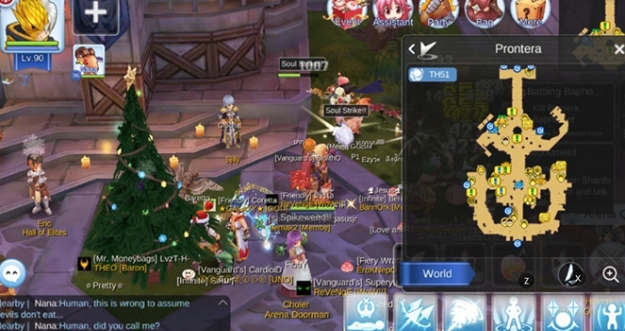 Jawaban Pertanyaan Sjilly, Prontera - Ragnarok M: Eternal Love