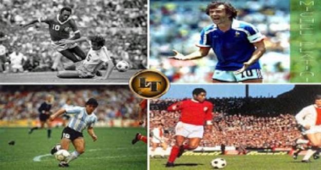 7 Pemain Sepakbola Paling Legendaris Dengan Nomor Punggung 10