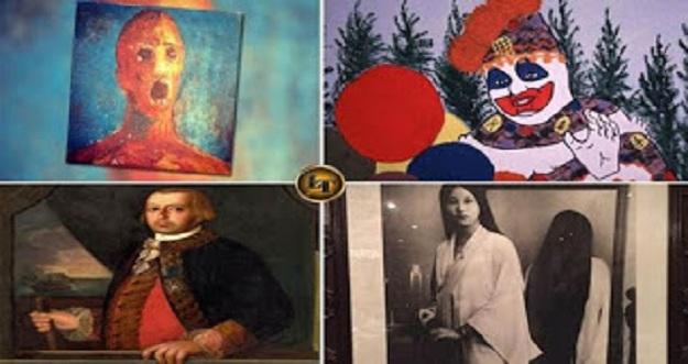 5 Lukisan Dengan Kutukan Paling Menyeramkan