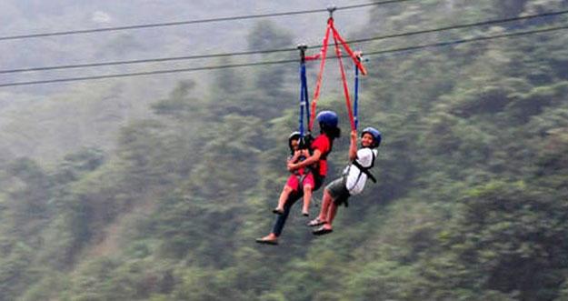 Flying Fox Seru Di Bogor