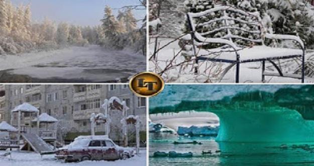 5 Tempat Paling Dingin di Dunia