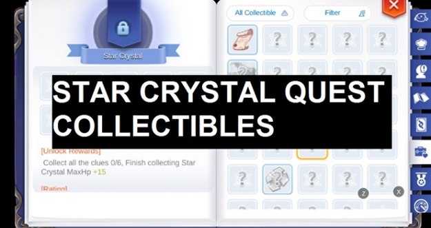 Star Crystal Quest Collectibles, Clock Tower 2F, Al De Baran - Ragnarok M: Eternal Love