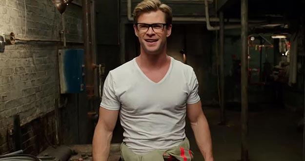 Begini Aksi Chris Hemsworth Dalam Film Ghostbusters
