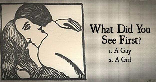 Pria atau Wanita? Gambar Pertama Yang Dilihat Menggambarkan Dirimu Sekarang