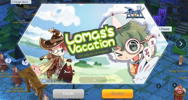 Lomas's Vacation - Ragnarok M: Eternal Love