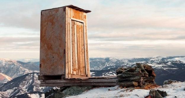 Toilet Paling Ekstrim Dunia Ada Di Gunung Altai