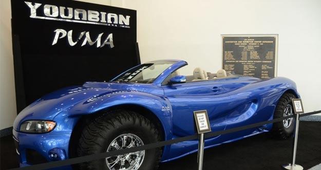 Youabian Puma, Mobil Rp 12 Miliar Buatan Dokter Bedah Plastik