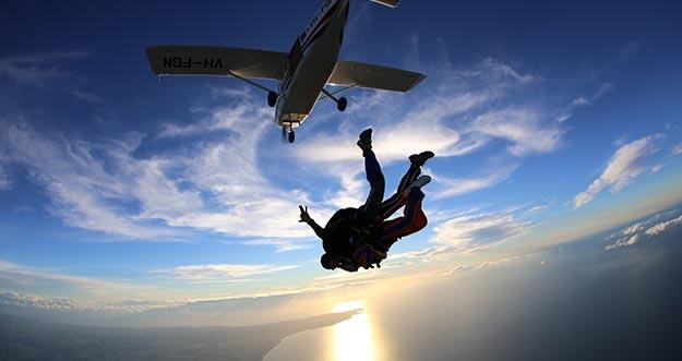 Rintangan Tersulit Bagi Skydiver Pemula