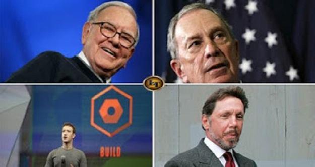 8 Orang Yang Kekayaannya Sebanding 30 Milliar Warga di Dunia