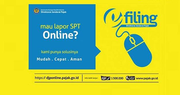 Cara Lapor SPT Pajak Online Lewat E-Filling