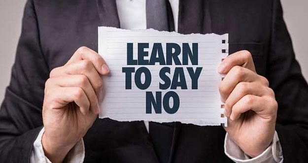 4 Alasan Penting Harus Belajar Mengatakan Tidak