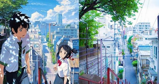 10 Lokasi Dalam Anime Yang Benar-Benar Ada Di Jepang