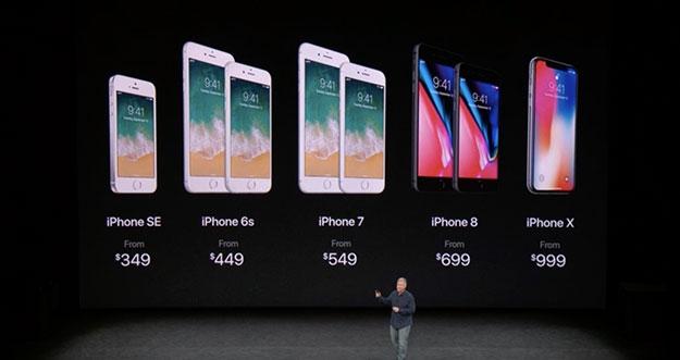 Berapa Harga iPhone  8, iPhone 8 Plus, dan iPhone X?