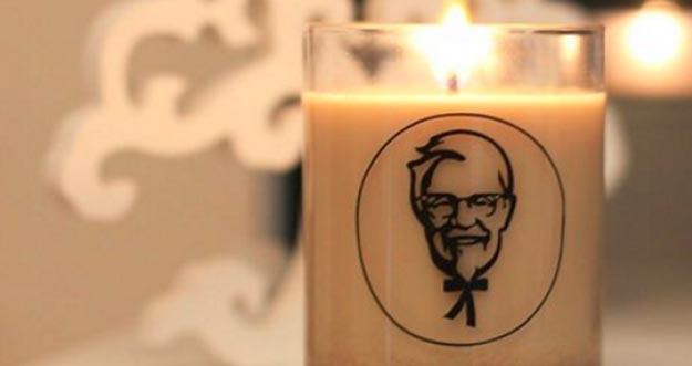 Lilin Dengan Aroma Ayam Goreng? Hmmmm... Pasti Enak