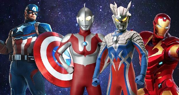 Proyek Bersama Marvel Dengan Ultraman