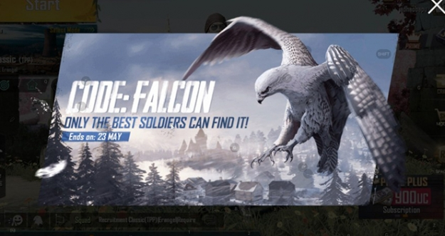 Lokasi Burung Falcon Di PUBG Mobile