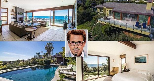 Wujud Rumah Mewah Aktor Pemeran Iron Man